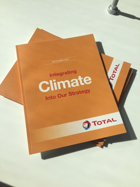 Climate report by TOTAL