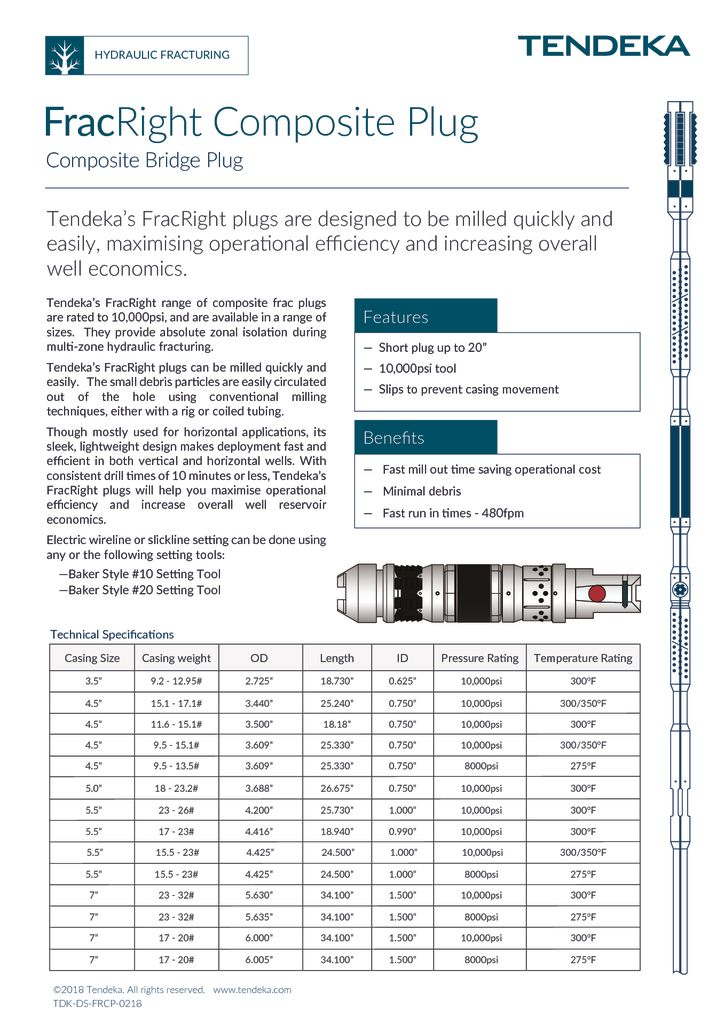 thumbnail of FracRight Composite Plug Datasheet 2018