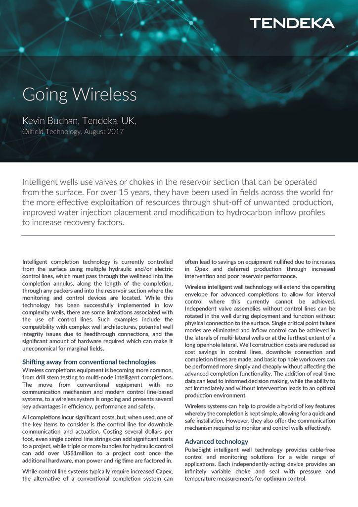 thumbnail of Going Wireless