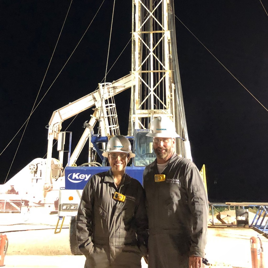 Tendeka team onsite of Permian Basin project