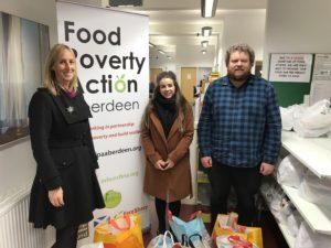 Tendeka donates goods to CFINE