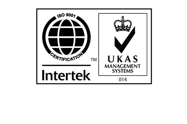Intertek 9001 accreditation logo