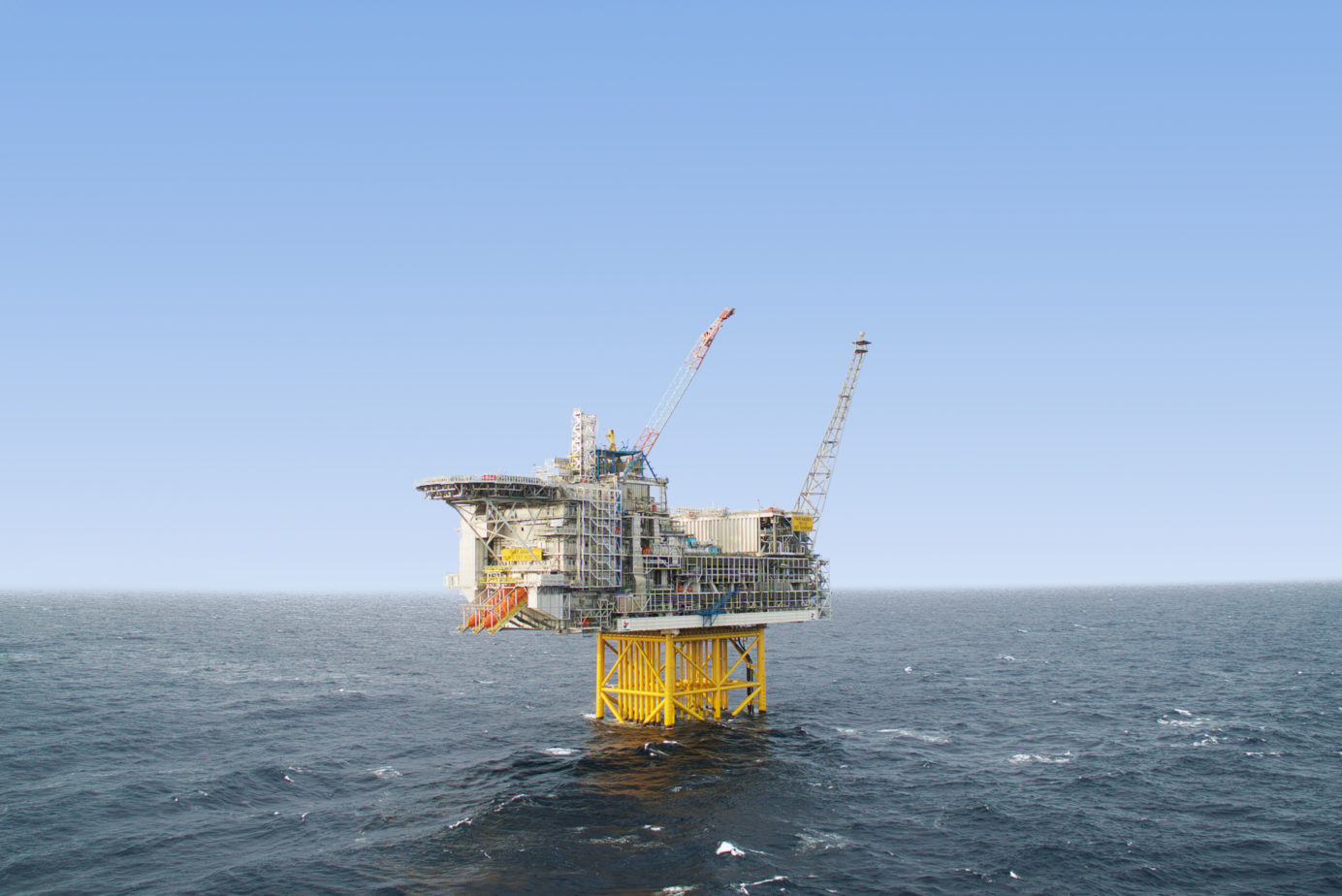 Ivar Aasen oil rig
