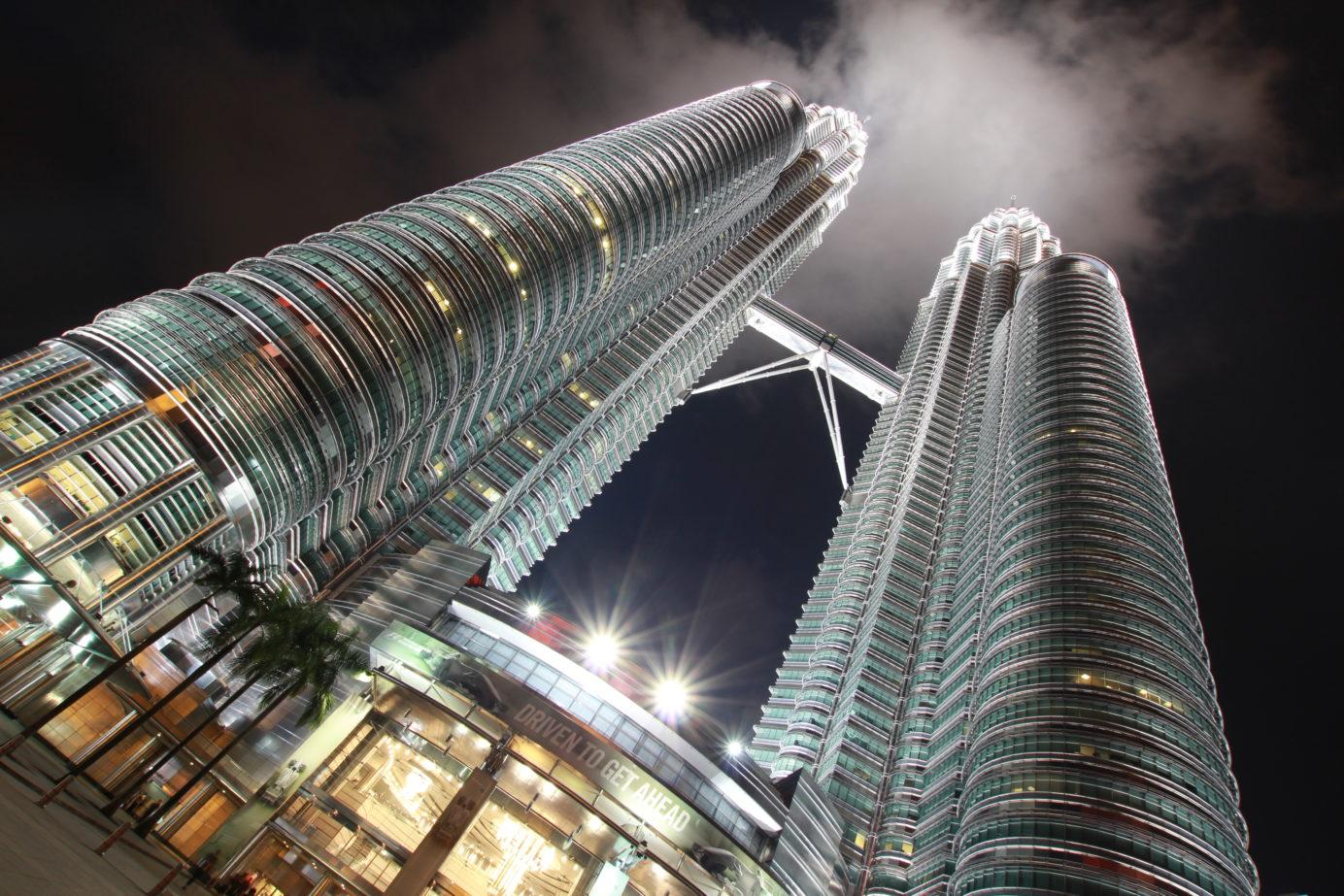 Twin towers in Malysia