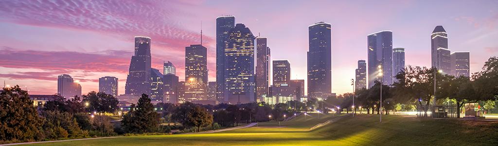 Houston skyscape