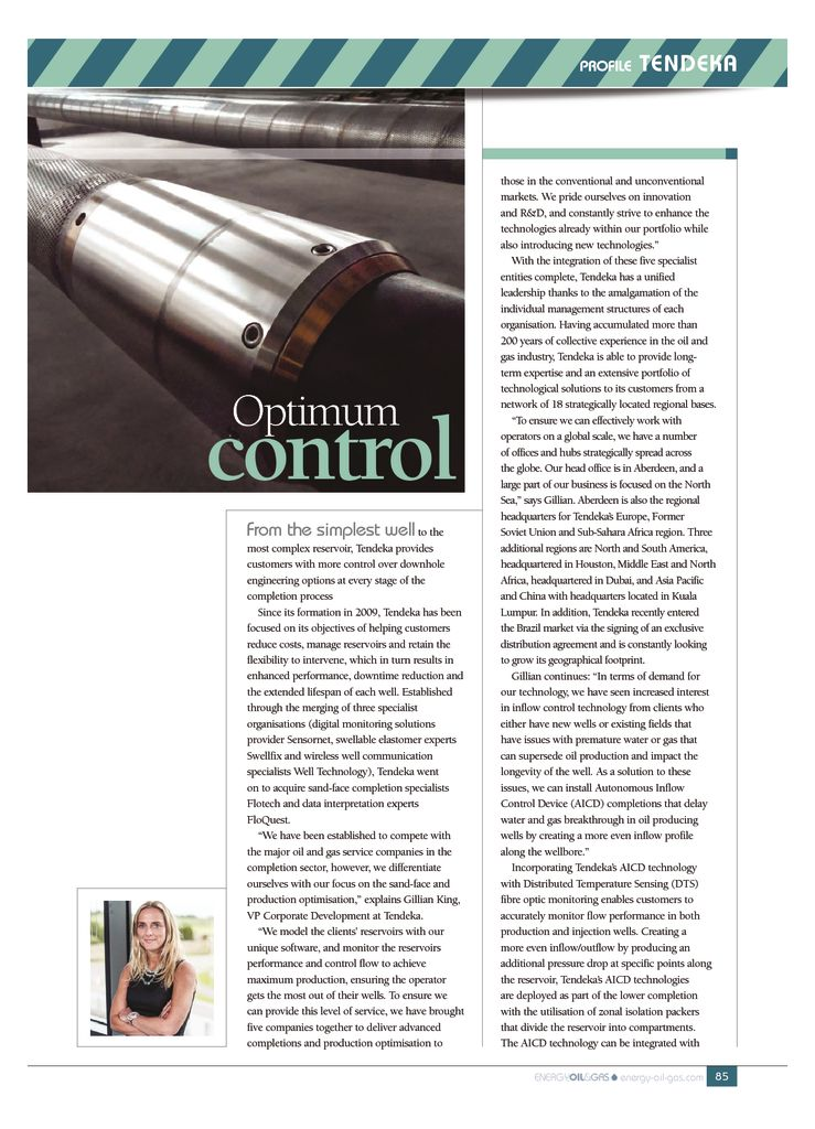 thumbnail of Optimum control – Energy Oil & Gas – July 2017