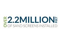 Over 2 million sand screen 200