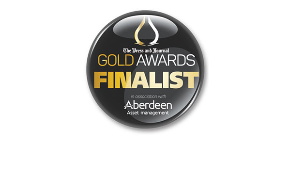 Press and Journal Gold Awards Finalist logo