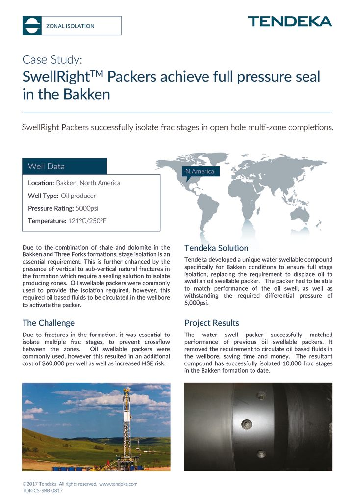 thumbnail of SwellRight Packer Bakken Case Study 2017