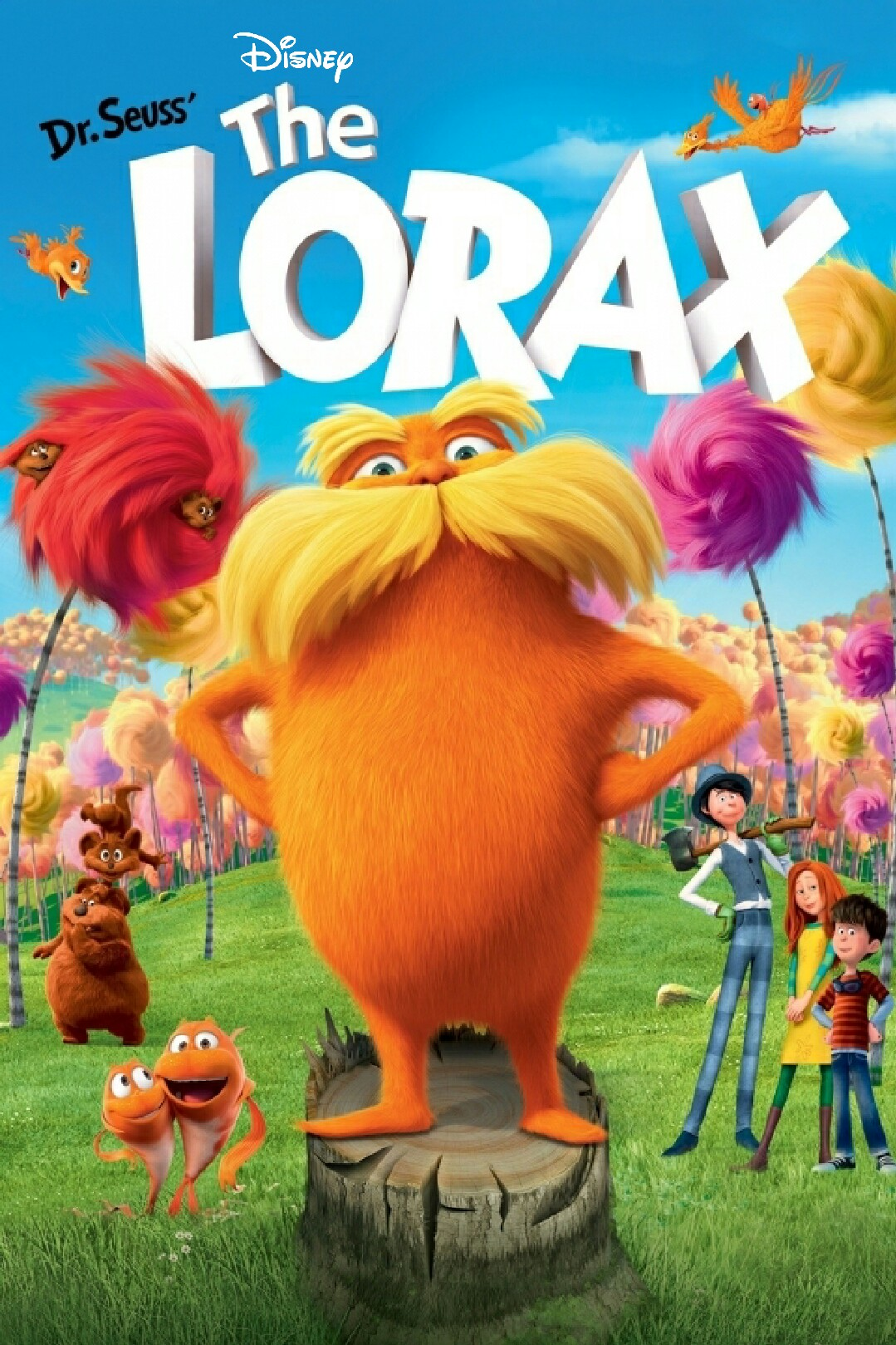 The Lorax film poster