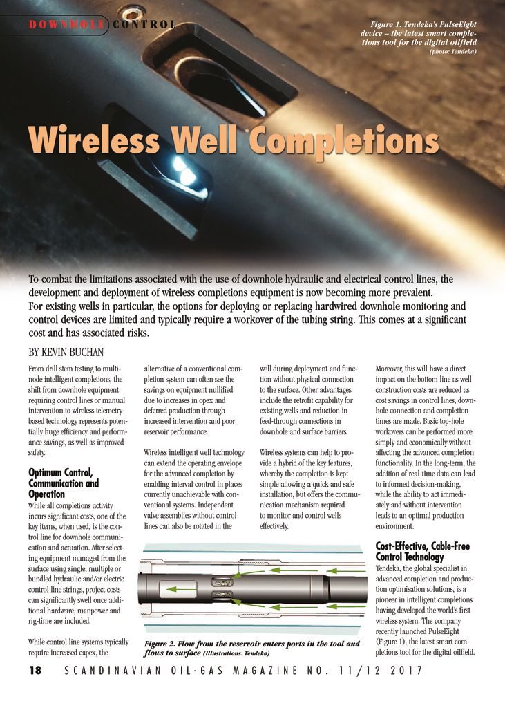 thumbnail of Wireless well completions – ScandOil December 2017