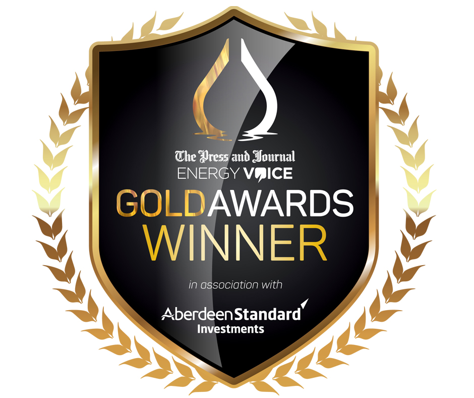 P&J Gold Awards winner logo