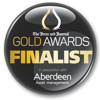 Finalists - Press and Journal Gold Awards logo