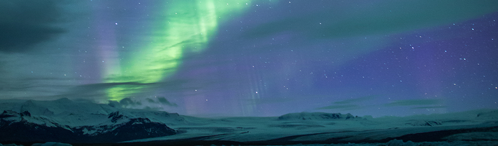 scenescape of the northern lights
