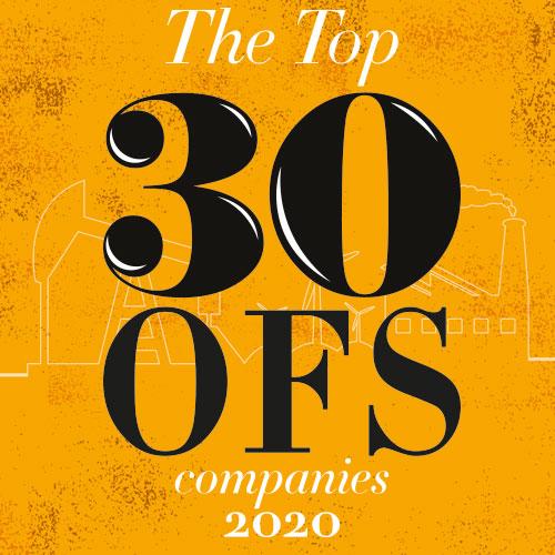 OGME Top 30 service companies 2020